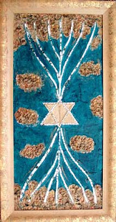 Reli Wasser, The Tree Of Life magen David Israeli art
