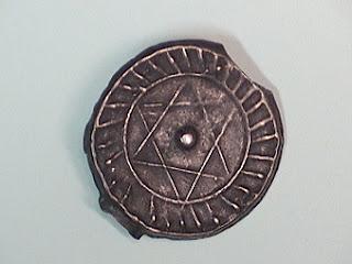 חותם שלמה על מטבע מרוקאית
