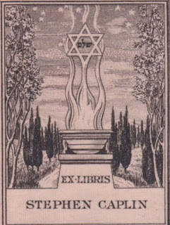 star of David bookplate