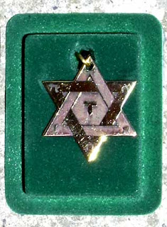 Hungarian Star of David Pendant