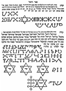 stars of David Book of Raziel