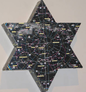 Star of David Diaspora sculpture ART