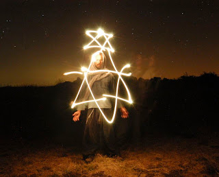 Playing with light ART david shield Israeli