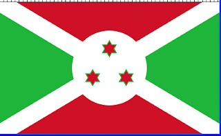 Flag of Burundi Hexagram