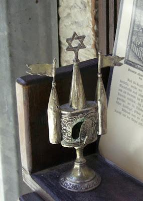מגן דוד כחלק ממגדל בשמים להבדלה
