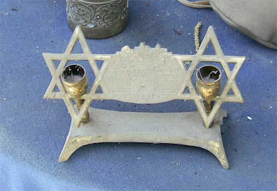 Candleholder Inside a Star of David