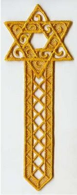 Another Bookmark-Star-of-David