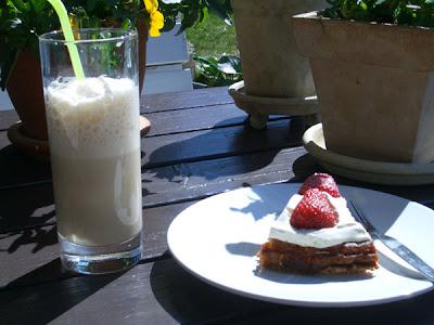 sommer og kage