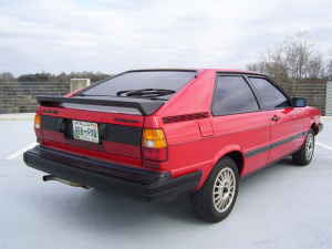 Just A Car Geek 1984 Audi Coupe GT