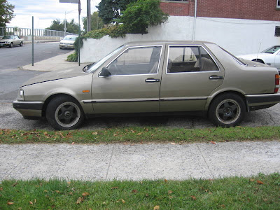 1984 lancia thema. 1986 Lancia Thema Turbo - A