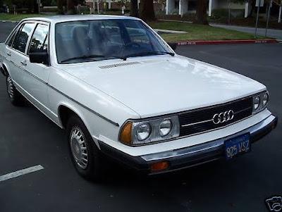 Just A Car Geek: 1978 Audi 5000 - A 93,000 Mile Survivor
