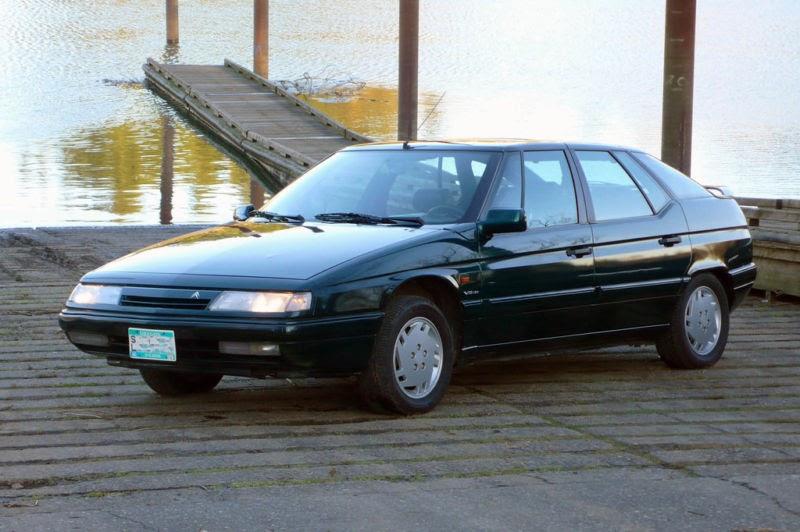 Just A Car Geek: 1992 V6, 24 Valve, Citroen XM