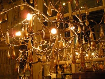 branch chandelier warm - Wall branch chandelier