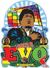 Apoyamos al Evo