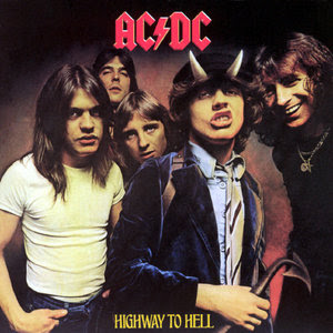 AC/DC. highway to hell. angus young.