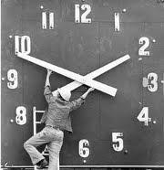 Alterando as Horas