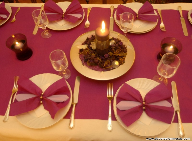 Decoracion de mesas mesa navidad 4 - Decoracion de mesa en navidad ...