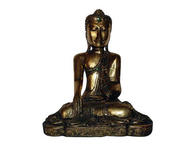 Buda con incrustaciones de piedras