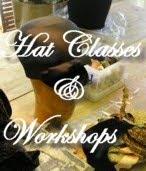 Hat classes & Millinery workshops