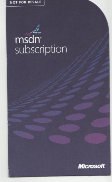 free msdn subscription