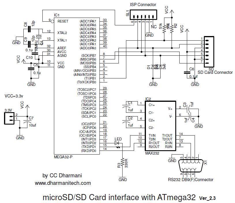 isp programmer schematic diagram isp software
