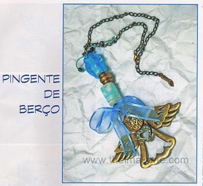 PINGENTE DE BERÇO DE ANJO DA GUARDA DE THELMA KORTE