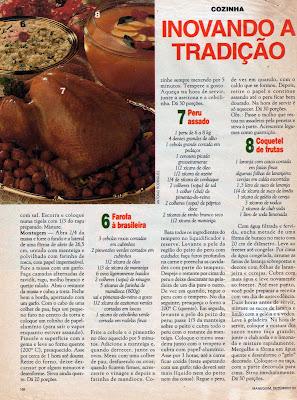MAIS RECEITAS DA CEIA DE NATAL