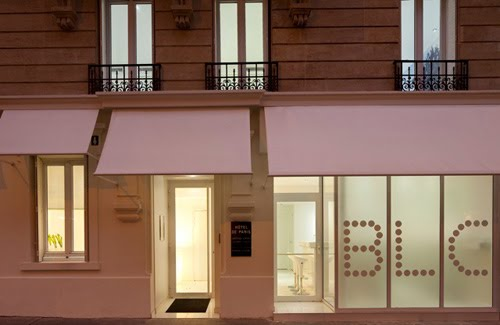 Another hip boutique hotel in paris the blc design hotel for Bic design hotel