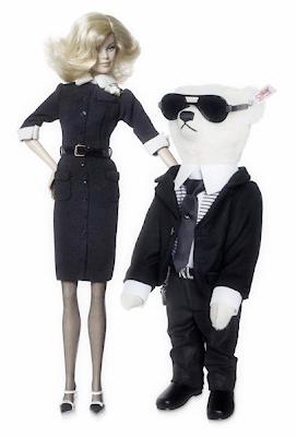 Sneak Peek: The Karl Lagerfeld Barbie & Ken Photos For The ...