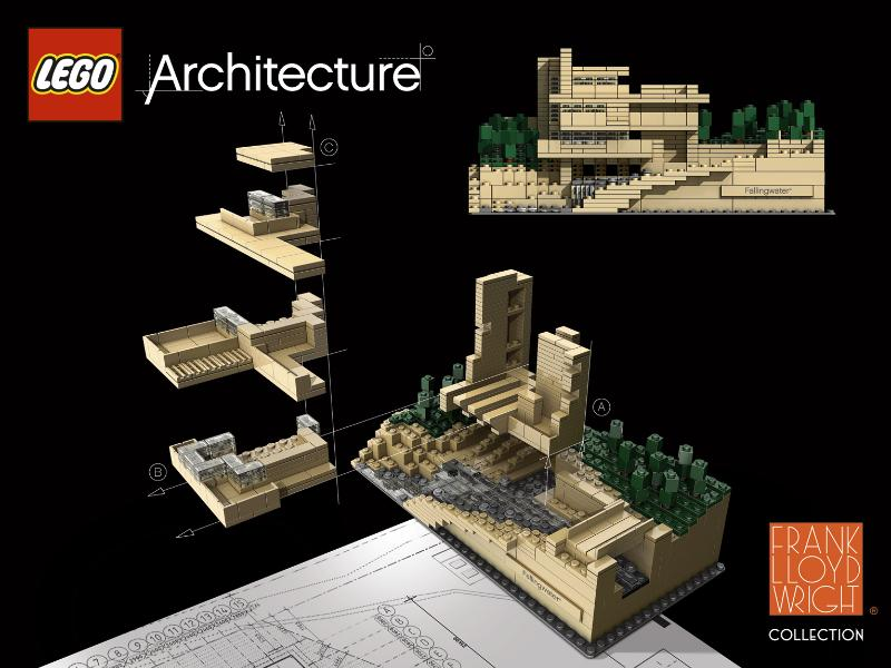 New LEGO Architecture Series By Adam Reed Tucker - if it's hip, it's ...