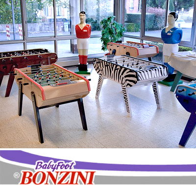 If Its Hip Its Here Archives Bonzini Scores With Their - Bonzini foosball table