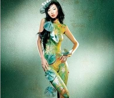 Beijing Body painting