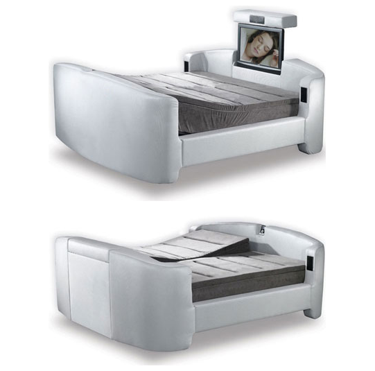 Karim rashid 39 s exclusive beds for hollandia sphere glow for Exclusive beds