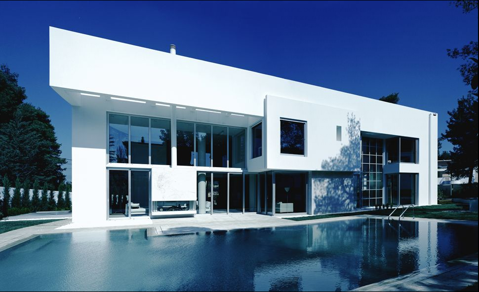 Modern Greek Architecture Modern House