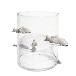 Floating Glass Fish For Aquarium