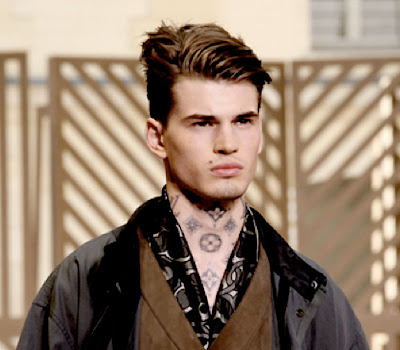 Tattoo Artist Scott Cambell Designs Bags & Inks Models For Louis Vuitton