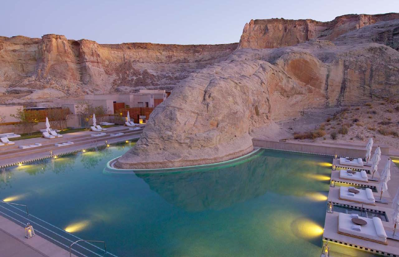 If it 39 s hip it 39 s here archives the amangiri spa for Best spa vacations usa
