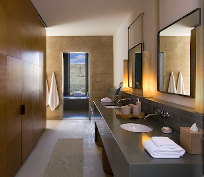 Daily update interior house design the amangiri spa for Bathroom remodel utah