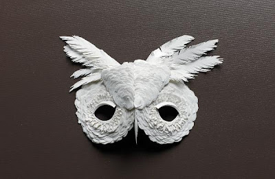 Beautiful Cut Paper Animal Masks by Flurry & Salk. Seen On www.coolpicturegallery.us