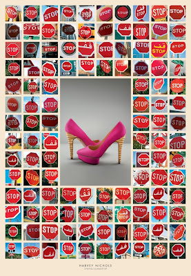 Cause & Effect Advertising Posters For Harvey Nichols From Y&R Dubai Seen On www.coolpicturegallery.us