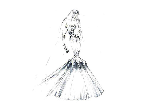 but also a modernday wedding gown for a young princess