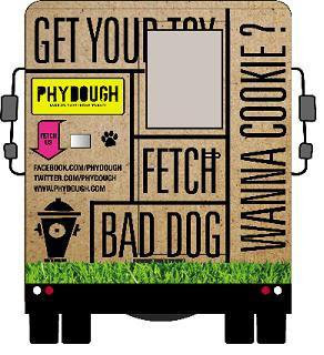 Puppy Chow. PhyDough Is An Organic Food Truck For Dogs Seen On   www.coolpicturegallery.us