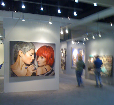 Modern Art Highlights From The Los Angeles Art Show Seen On  www.coolpicturegallery.us