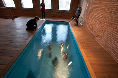 A Fake Pool Makes A Splash All Over The World Seen On www.coolpicturegallery.us