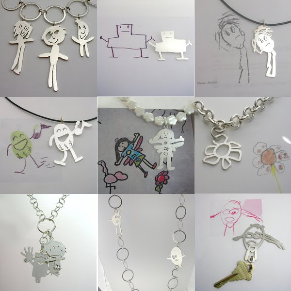 Formia Design Turns Your Childs Original Art Into Jewelry
