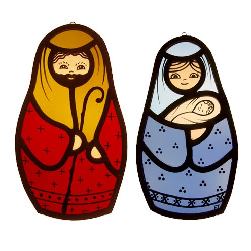 Rosco Nativity Stained Glass Pattern | Stage & Theatre Lighting