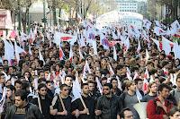 Manifestazione ad Atene del 5 marzo - Foto: KKE International-Picasa