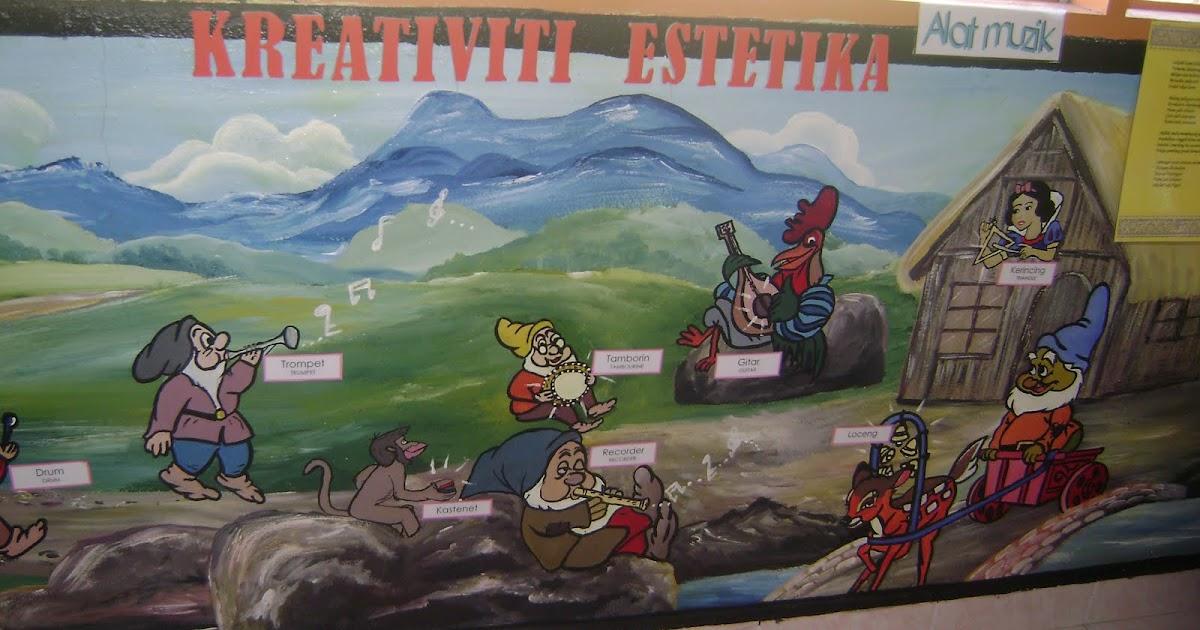 Genius kids zone beberapa contoh mural kelas prasekolah for Mural 1 malaysia