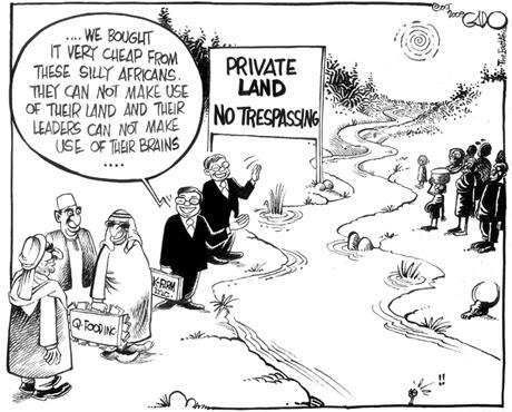 Geografibloggen: Land grabbing - neo-colonialism in Africa