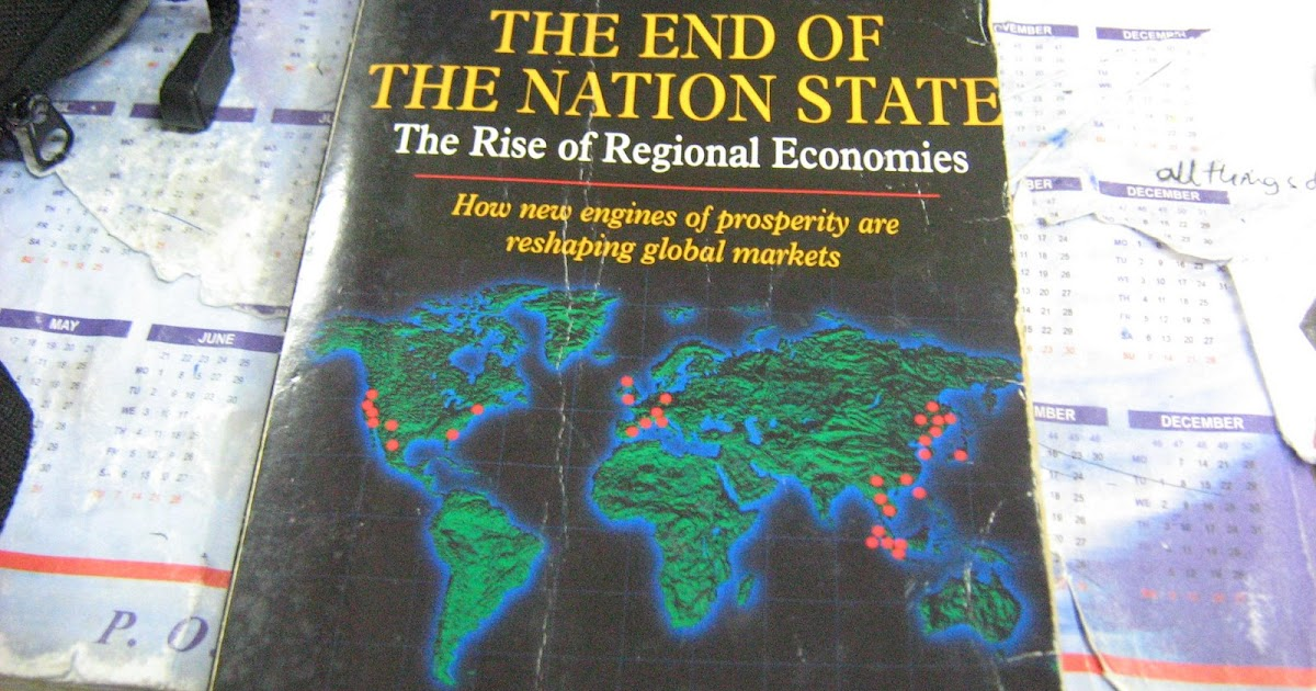 ohmae thesis Radical versions of the thesis globalisation: radical theories on globalisation the central thesis of ohmae's book is that the leaders of states have.